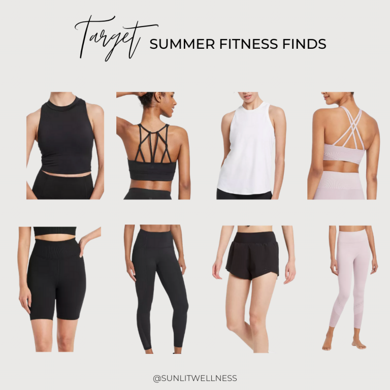 Favorite Fitness Finds from Target